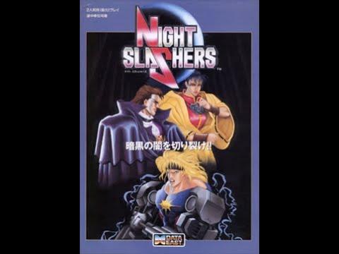 Night Slashers Arcade Original Pcb