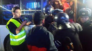 Столкновения Бишкеке АЗИЯ