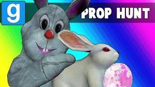 Gmod Prop Hunt Funny Moments - Easter Egg Hunting 2018! (Garry's Mod)