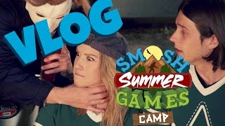 I vlog the Smosh fam during Smosh Summer Camp | Courtney Miller