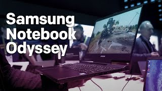 Samsung Notebook Odyssey 15.6 is a Stylish Gaming Laptop with GeForce RTX 2080