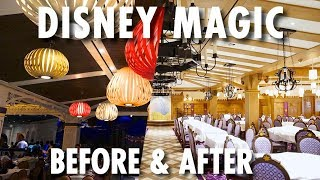 Disney Magic Before & After (2014/2018) ~ Disney Cruise Line ~ Cruise Ship Redesign Tour