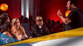 EDURNE da su PASE de ORO al MEJOR MAGO del programa | Audiciones 6 | Got Talent España 5 (2019)