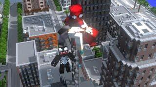 Spiderman vs Venom Life - Minecraft Animation