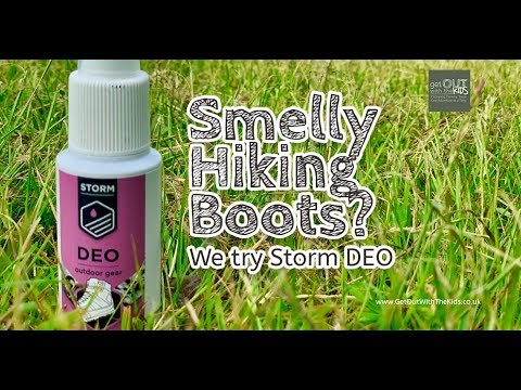 video DEO for hiking boots and shoes