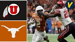 #11 Utah vs Texas Highlights | 2019 Alamo Bowl Highlights | College Football