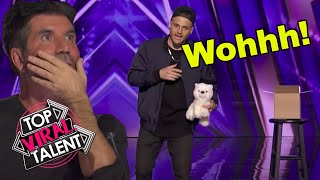 AMERICA'S GOT TALENT 2021 Magic Auditions that SHOCKED the judges!