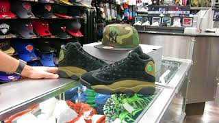 Nike Air Jordan - Olive 13's - at Street Gear, Hempstead NY