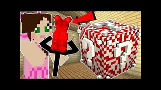 PopularMMOs Pat and Jen Minecraft: CANDY LUCKY BLOCK!!! (GUMMY BEAR WEAPONS, CANDY ARMOR, & MORE!)