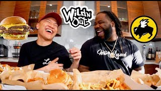 "Why We Got ""Fired"" From Wild N Out & Show Secrets - Buffalo Wild Wings Muk Bang with Darren Brand"