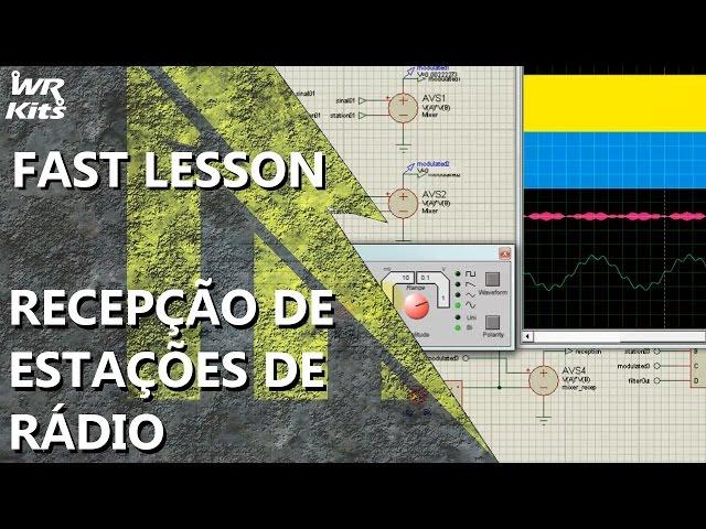 SIMULANDO A RECEPÇÃO DE ESTAÇÕES DE RÁDIO | Fast Lesson #142