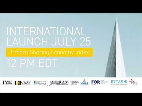 GLOBAL LAUNCH: TIMBRO SHARING ECONOMY INDEX