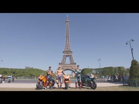 A detour around Paris en route to Le Mans