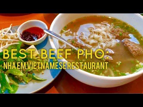 Best Beef Pho Cha Gio Goi Cuon Banh Xeo Manila: Nha Em SM Aura Bonifacio Global City