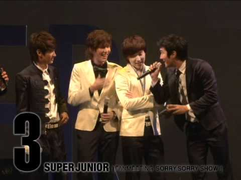 Super Junior_'Fan Meeting SORRY, SORRY SHOW' Highlight