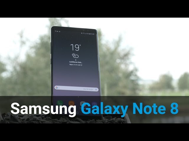 Belsimpel-productvideo voor de Samsung Galaxy Note 8 N950 Duos Blue