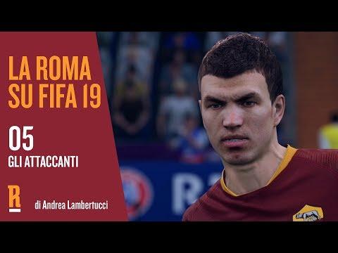 La Roma su FIFA 19 | Episodio 05 | Gli attaccanti |Ünder, Pastore, Lorenzo Pellegrini, El Shaarawy, Kluivert, Schick, Perotti e Dzeko