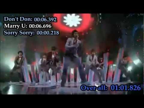 Super Junior's Hangeng's singing parts [UPDATED]