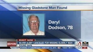 Silver Alert canceled: Missing man found