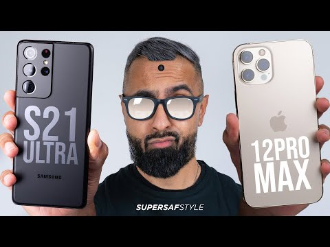 Samsung Galaxy S21 Ultra vs iPhone 12 Pro Max - Which is the Flagship KING?