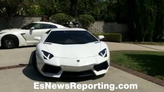 Leo Santa Cruz Lamborghini He Bought From Floyd Mayweather - esnews boxing