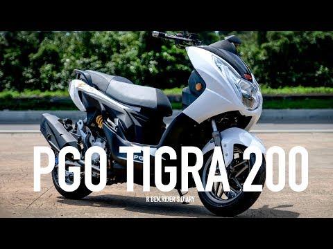 胖彪虎來了! PGO TIGRA 200 動力升級新登場 / 第一人稱