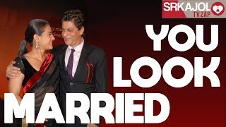 SRKajol TV Zap - You look married | Shah Rukh Khan and Kajol