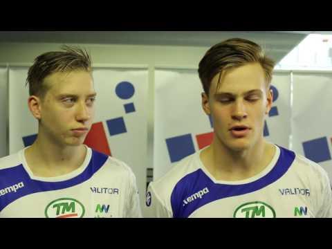 Alexander og Sveinn Jó