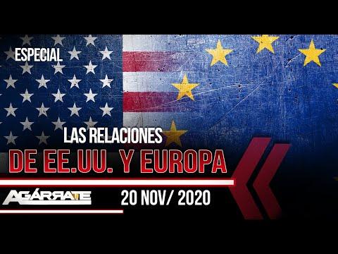 ¿Cómo SE VE el conflicto electoral de USA desde Europa? | Agárrate | Patricia Poleo | 1 de 5