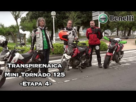 Transpirenaica Benelli Mini Tornado 125 - Día 4 - [English Subtitles]