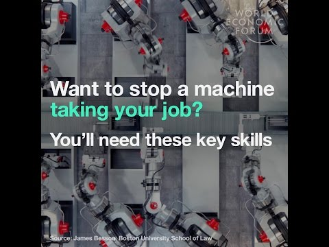 Want to stop a machine taking your job? You´ll need this skills