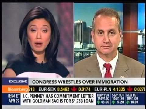 Diaz-Balart on immigration reform with BloombergTV's Betty Liu, 4 ...