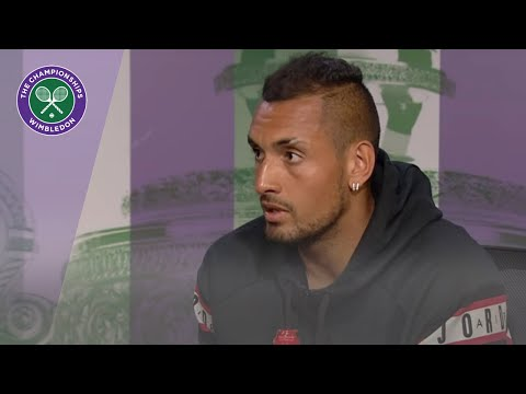 Nick Kyrgios  Wimbledon 2019 First Round Press Conference