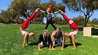 Extreme Yoga Challenge Ft Sav, Cole & Everleigh