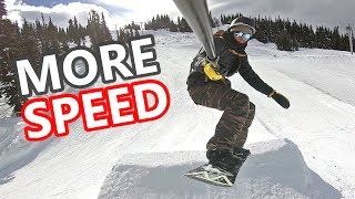 3 Tips to Snowboard With More SPEED