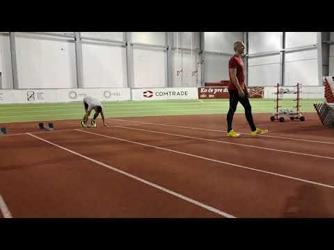 Aleksa Živanov - trening