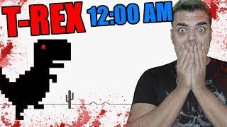 No DEBES jugar al T-REX a las 12:00 AM | El juego del dinosaurio de google