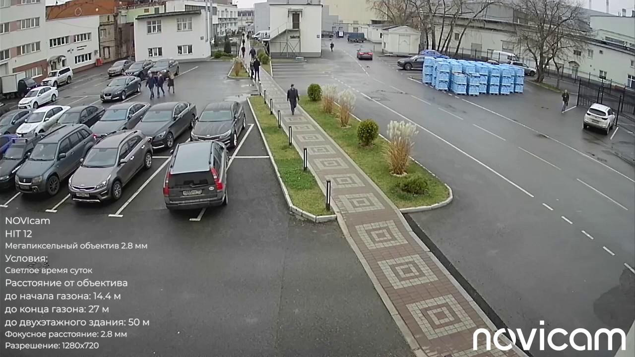 NOVIcam HIT 12 купольная уличная 4 в 1 видеокамера 1 Мп