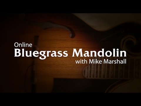 Mandolin Lessons with Mike Marshall - Promo