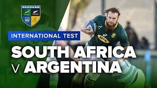 South Africa v Argentina | 2019 International Test Highlights