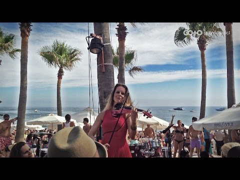 Travel Vlog: Amazing Electric Violinist at Nikki Beach in Marbella