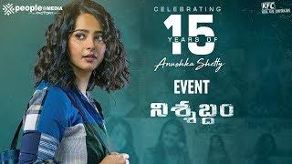 Celebrating 15 Years of Anushka Shetty Event Live- Nishabd..