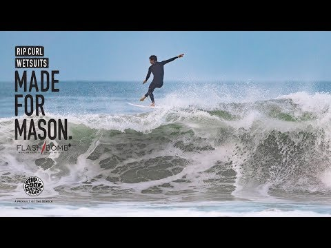 Mason Ho  | Made For Waves 2018 | Wetsuits by Rip Curl