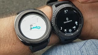 Samsung Gear Sport & Gear S3 GPS comparison Part 2 - Using GPS to track exercise without phone