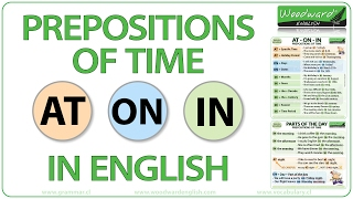 AT ON IN - Prepositions of Time in English