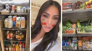 Kim Kardashian's Refrigerator Is INSANE -- Tour Her Kitchen!