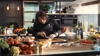 Cheeseburger cu cartofi prajiti si salata coleslaw • Bucataria Lidl cu Chef Florin
