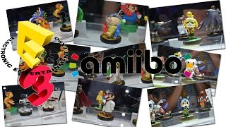 Amiibo Display Tour at E3 [E3 2015 - Electronic Entertainment Expo]