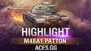 Капитан Америка! M48A1 Patton