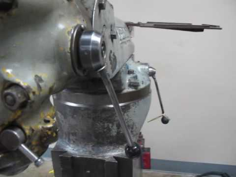 Bridgeport 1J Step Head Knee Mill
